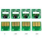 Kit com  4 Chips Reset Unid. Imagem para Konica modelos  C220/C280/C360