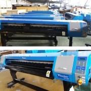 Plotter de Impressão Digital 1,80m Eco Solvente Cabeça DX7 VISUTEC