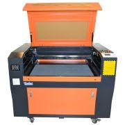 Maquina Router Laser Cnc SK9060 Corte E Gravação 90x60cm 80w
