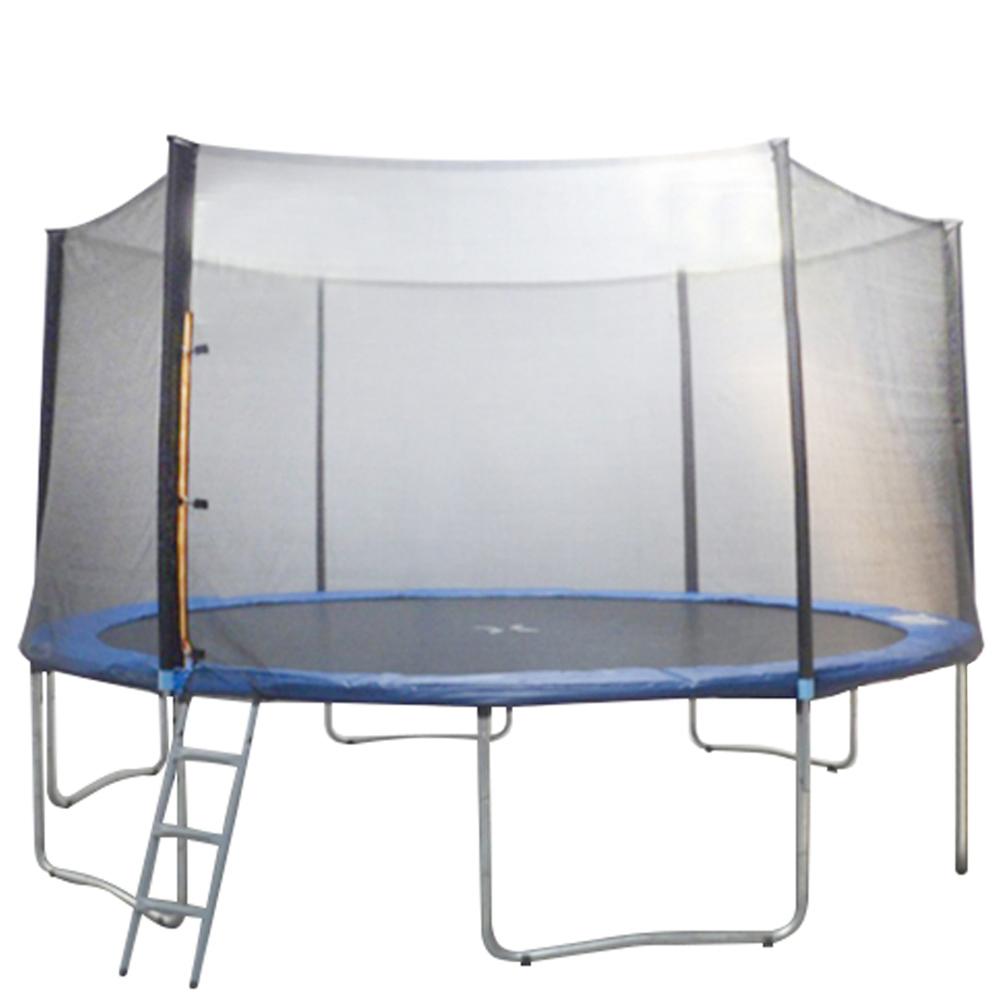 Cama Elástica 4,30m + Rede + Escada + Proteção De Molas