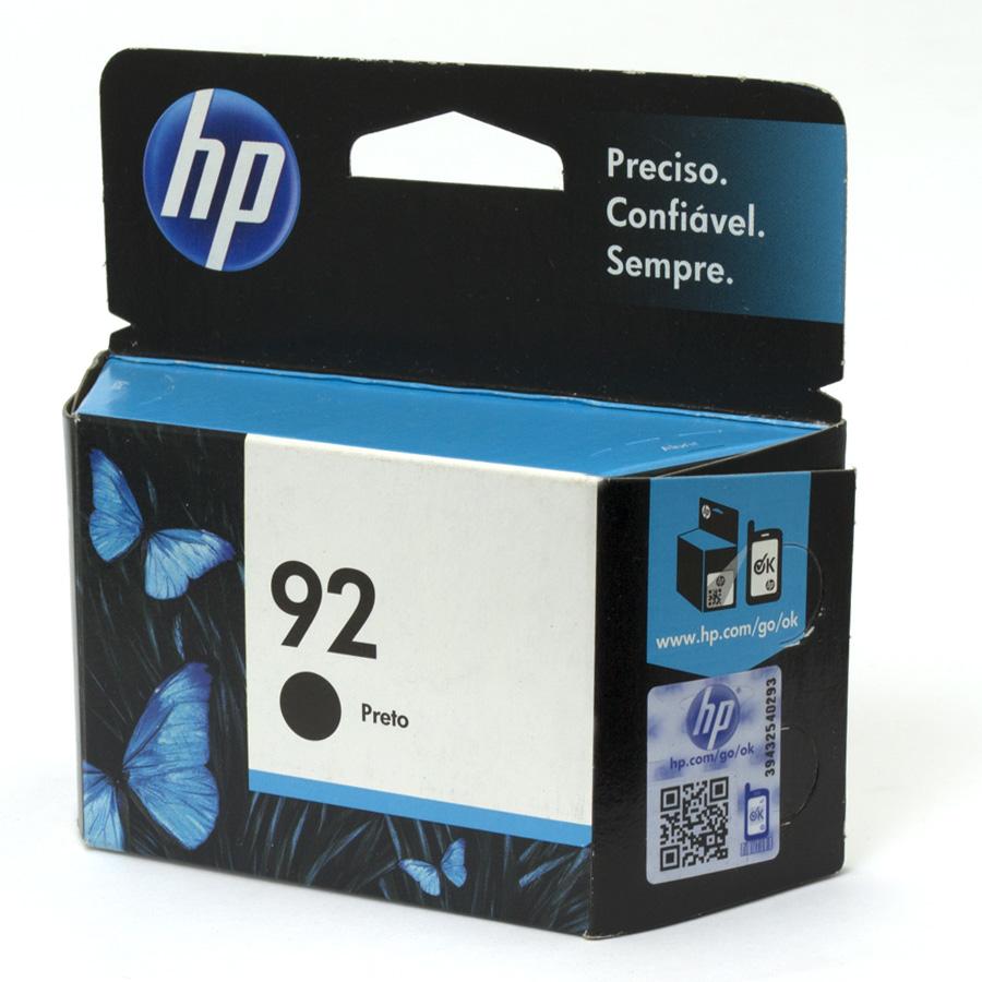 Cartucho 92 Original HP Preto