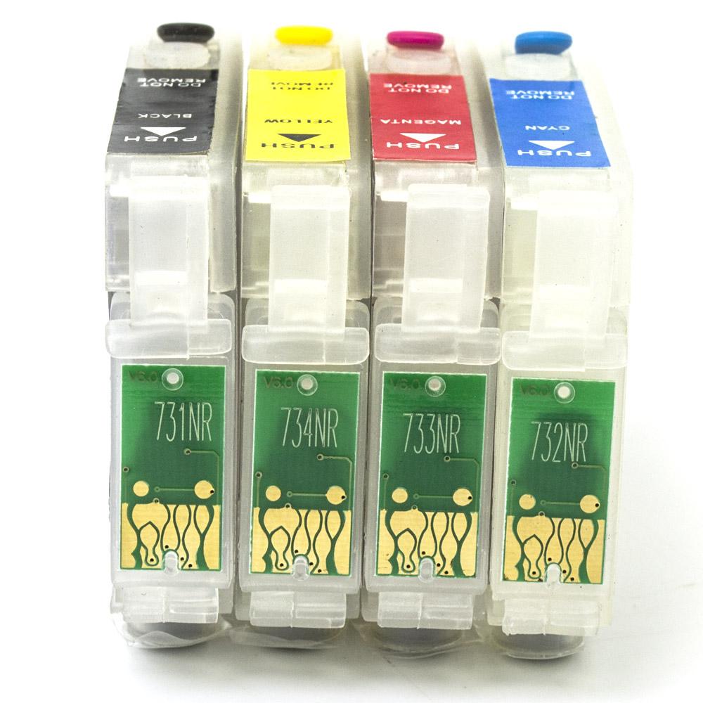 Cartuchos Recarregáveis Epson TX: 200, 210, 220, 400, 410 e 300F (Vazios)