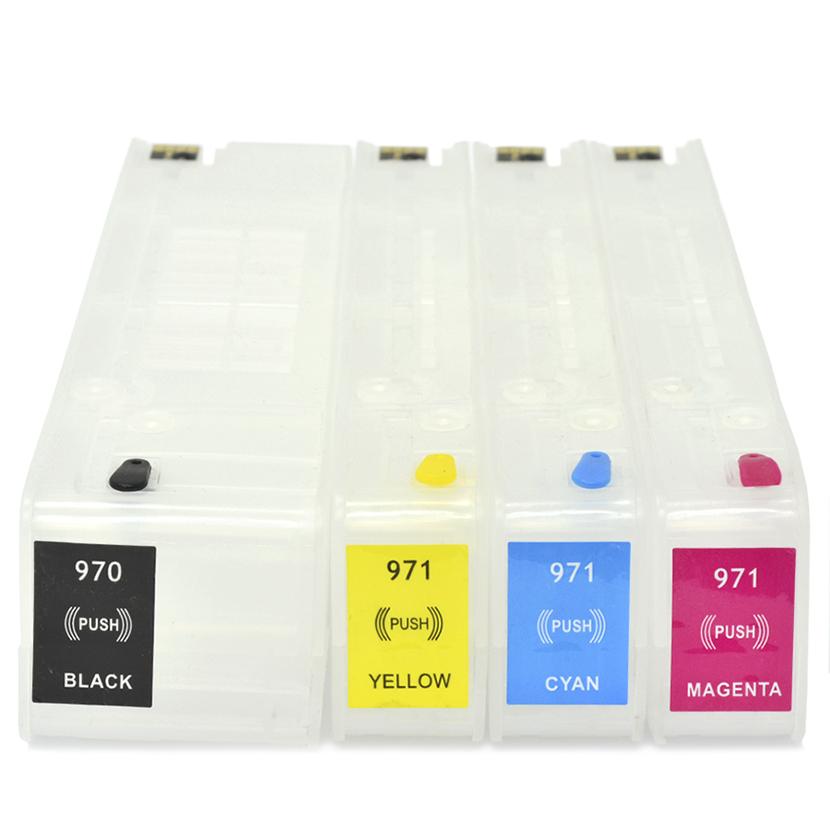 Cartuchos Recarregáveis Pro X451, X476, X576, X551dw, HP 970 e HP 971