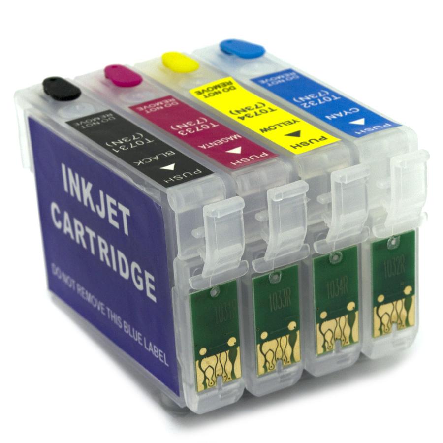 Cartuchos Recarregáveis para T40W e TX550 (Vazios)