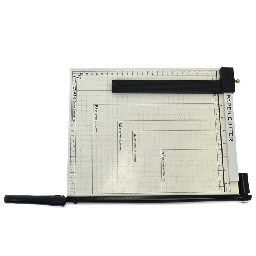 Guilhotina de papel com trava da VISUTEC - Corta até 10 folhas A4
