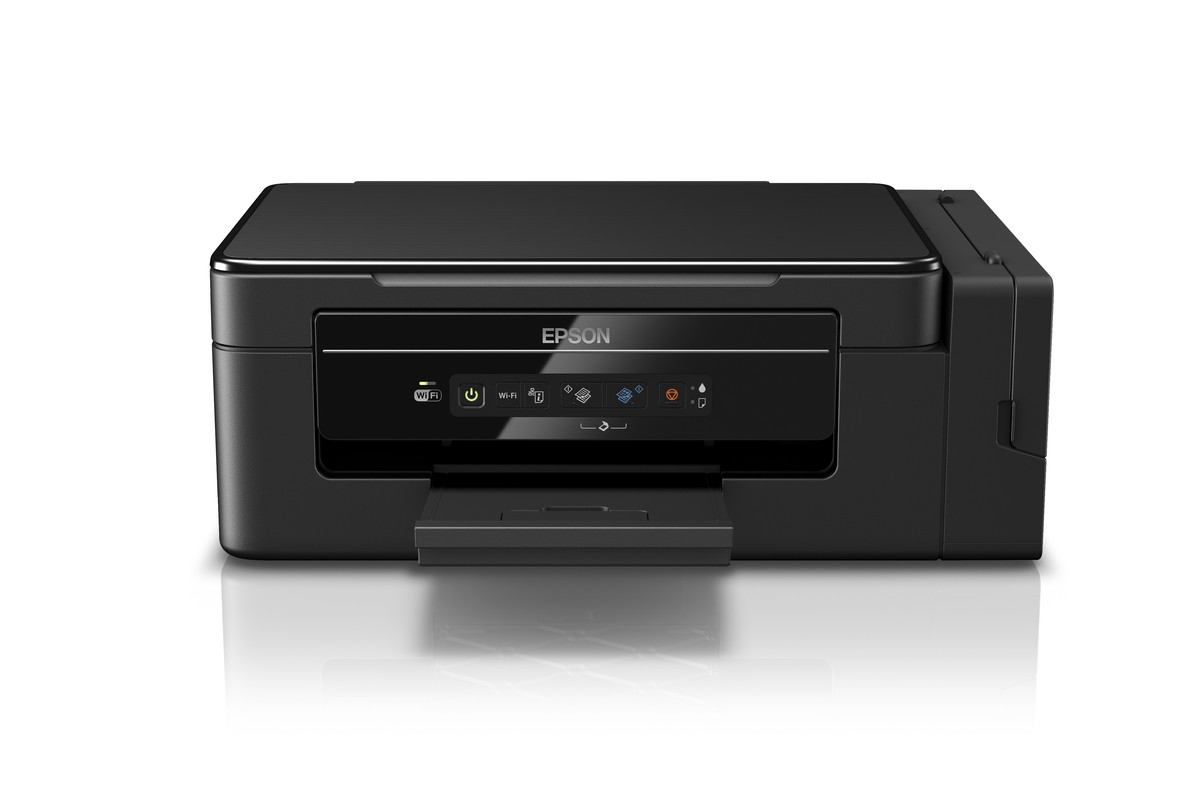 Impressora Epson L395 WiFi + Bulk Ink + 400ml Tinta Sublimática