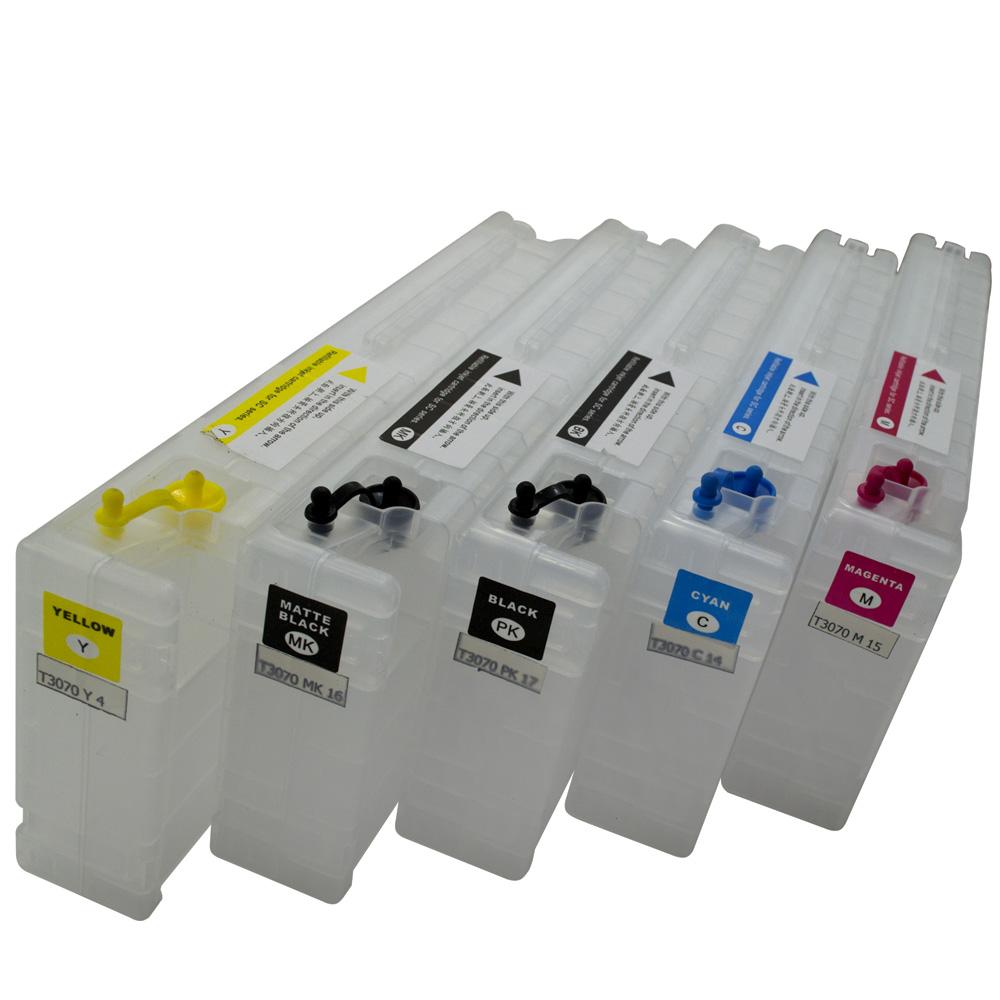 Kit 5 Cartuchos Recarregáveis T3070, T3270, T5070, T5270, T7070 e T7270