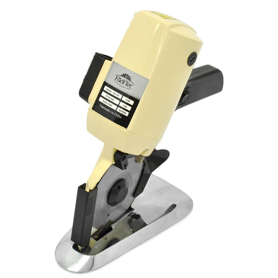 Máquina de Corte para Tecido da Fáciltec com  disco octogonal de 4