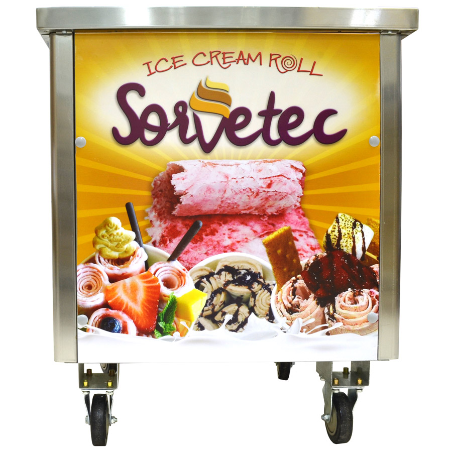 Máquina de Sorvete na Chapa - Ice Cream Roll da Sorvetec