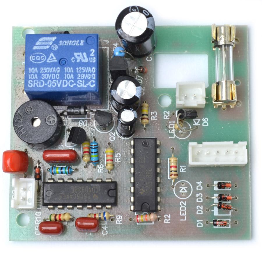 Placa de Controle da Máquina  Seladora e Embaladora a Vácuo Fáciltec