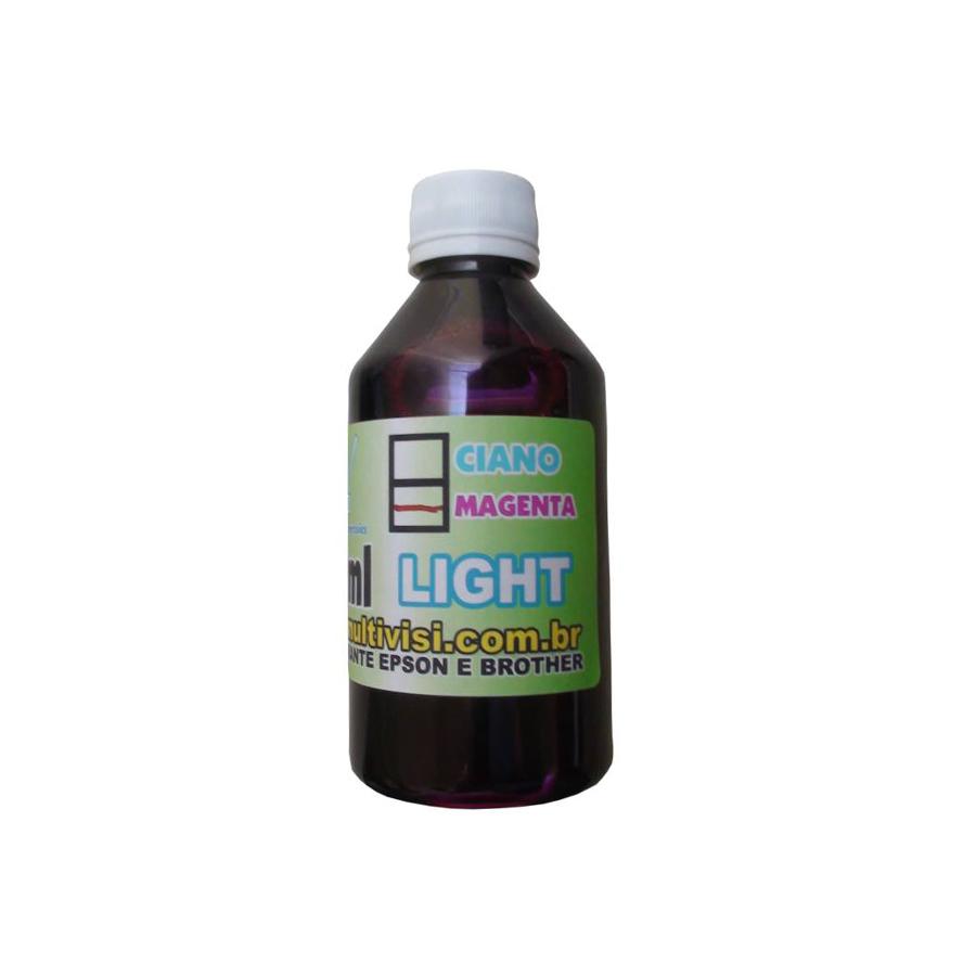 Tinta Corante Magenta Light para Epson e Brother (250ml)