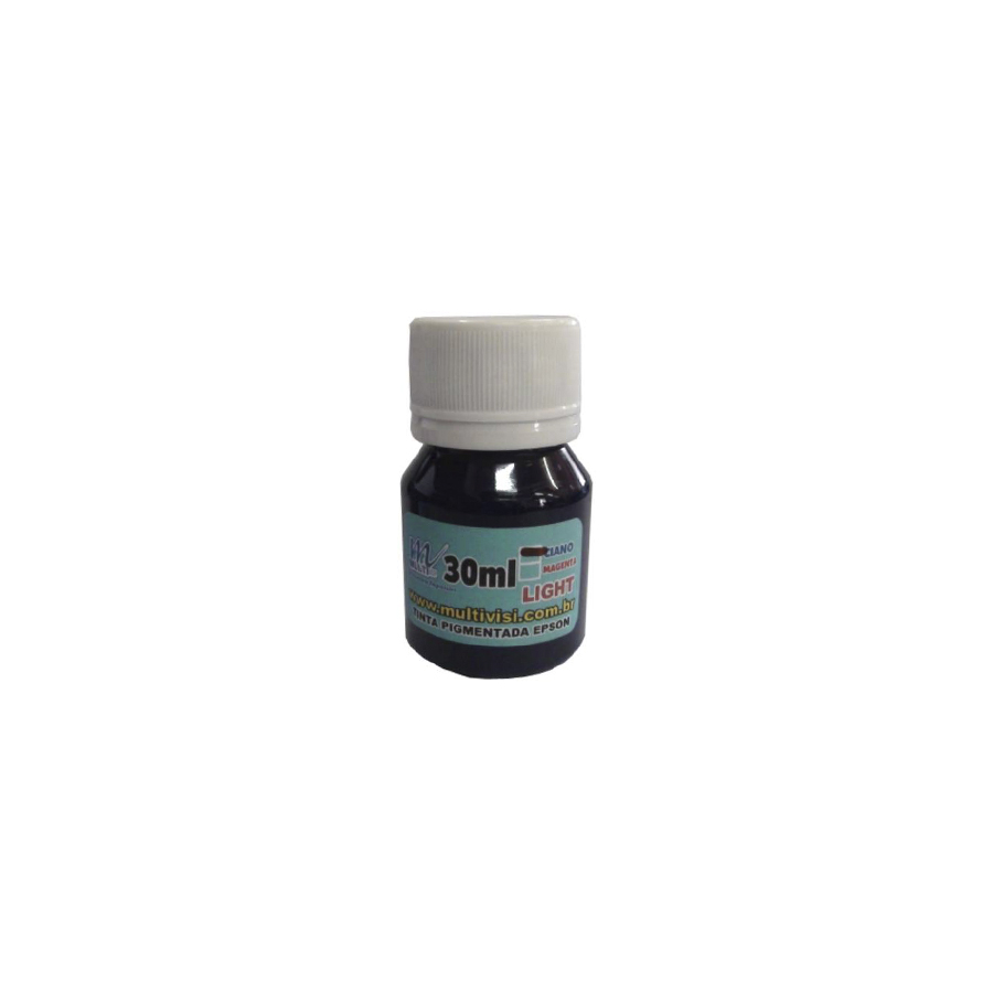 Tinta Pigmentada Ciano Light para Epson e Brother (30ml)