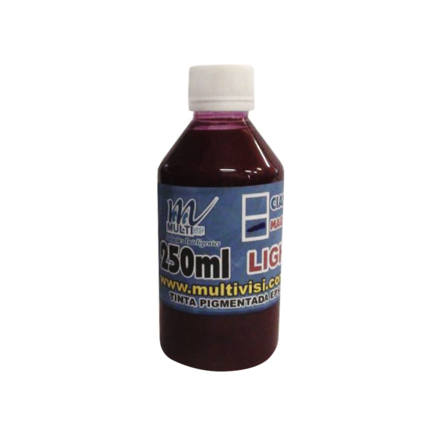 Tinta Pigmentada Magenta Light para Epson e Brother (250ml)
