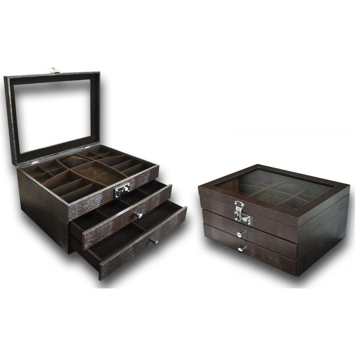 Porta-Joias modelo Luxo triplo