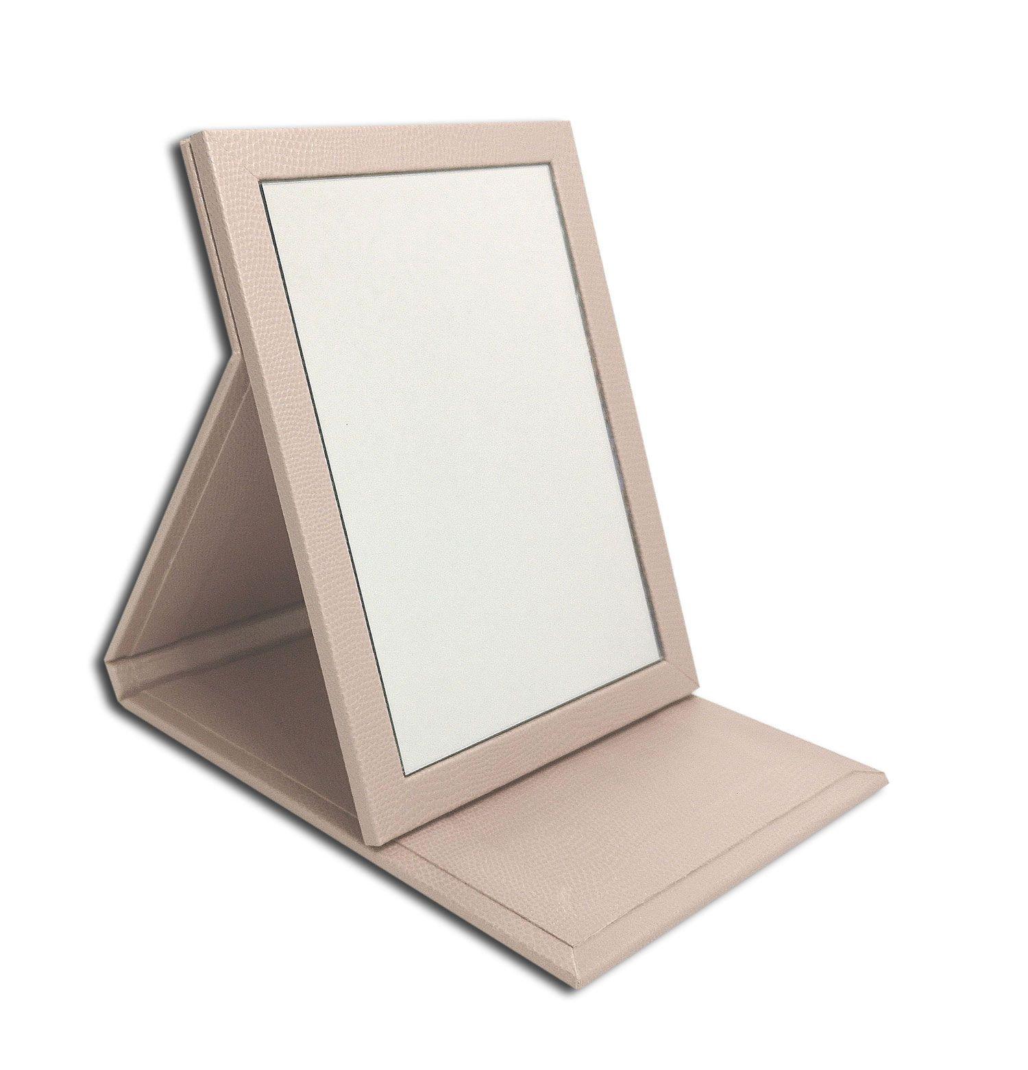 Espelho multiuso Luxo - Rosê Perolizado