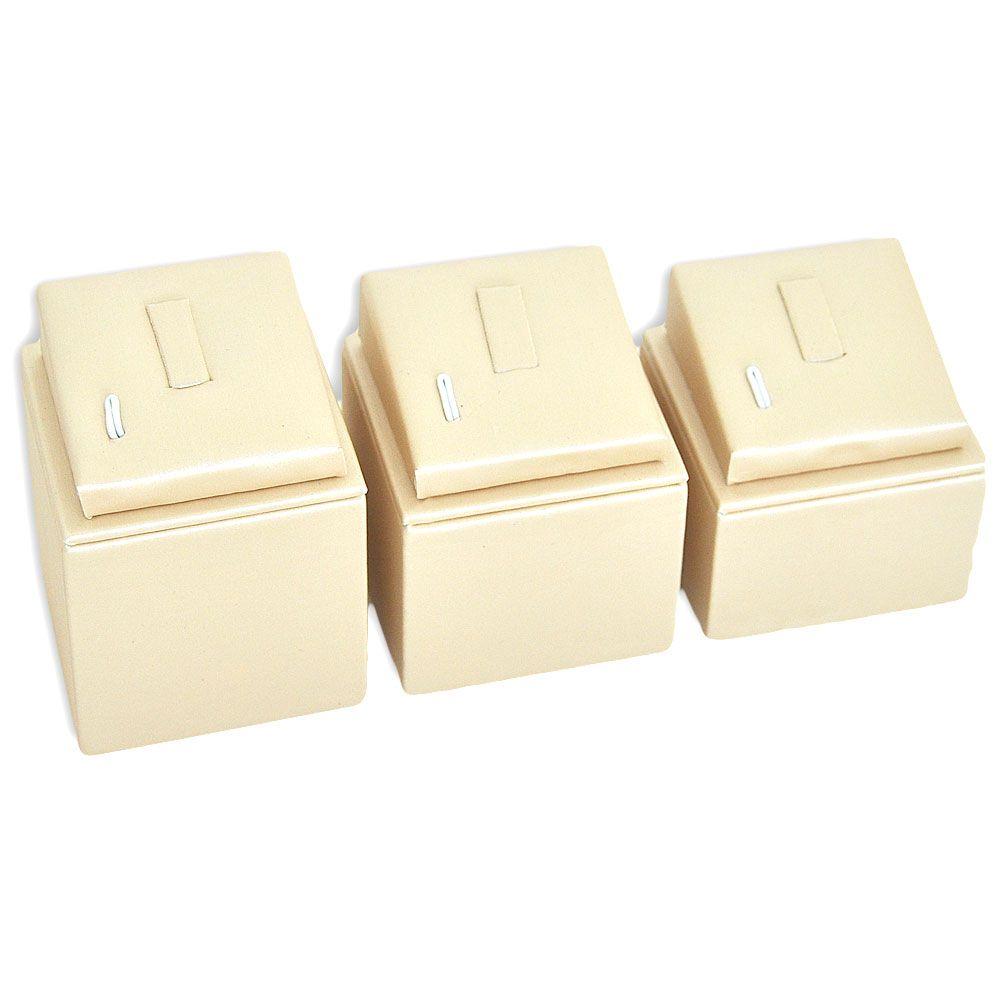 Kit expositor para anéis com 3 unidades - DOURADO