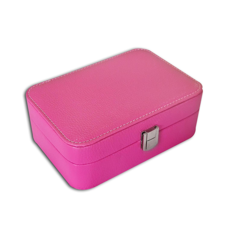 Porta-Joias misto retangular - Pink / Lilás