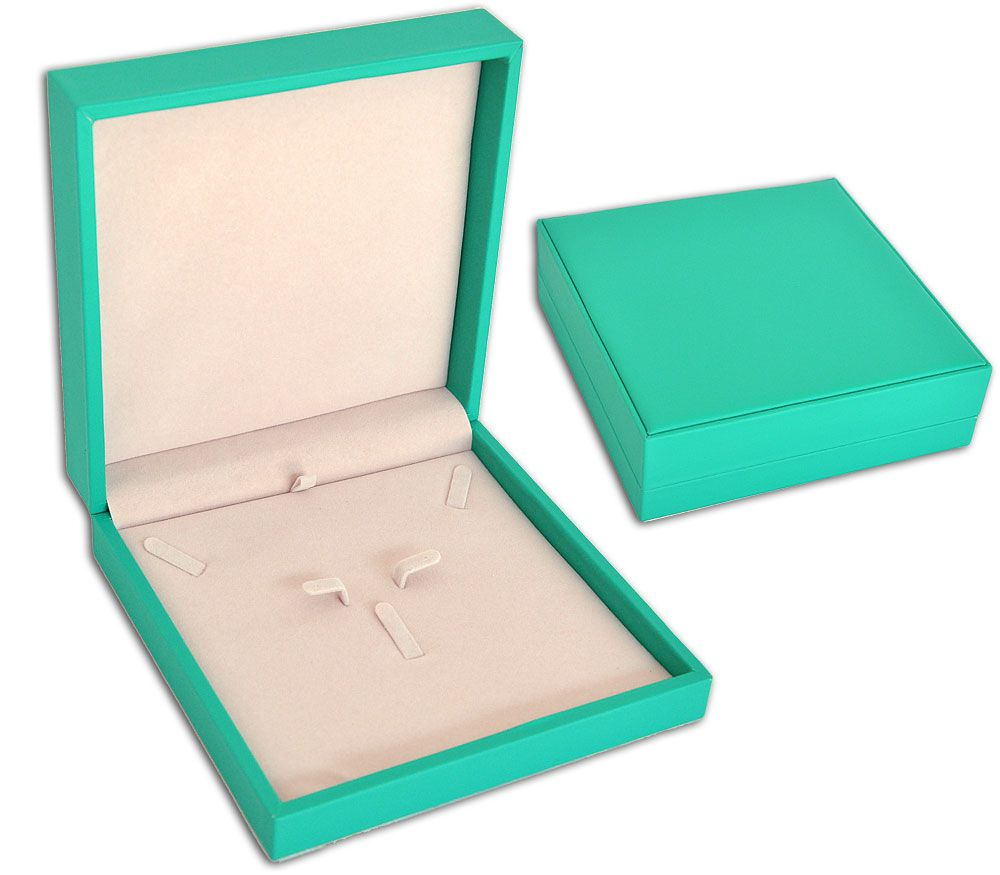 Porta-Joias para conjunto (Colar, brinco e anel) - Verde