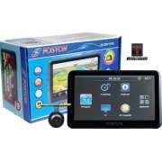 GPS Automotivo Foston Fs- 3D717DC com TV digital e Camera de Ré