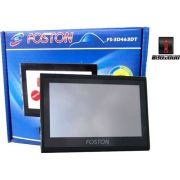 Gps Automotivo Foston 3d 463 Tela 4,3 Avisa Radar,tv Digital