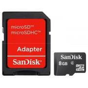 Cartão Micro SD + Adaptador SanDisk 8GB - ILIMITI SHOP