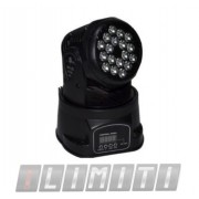 Moving Head 18 Leds - 3 Watts - Dmx