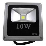 Refletor Led - Holofote Branco Frio 10w - Ip66 Bivolt Slim - ILIMITI SHOP