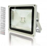 Refletor Led - Holofote Branco Frio 20w - Ip66 Bivolt Slim