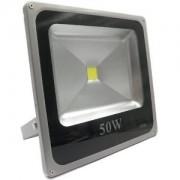 Refletor Led - Holofote Branco Frio 50w - Ip66 Bivolt Slim - ILIMITI SHOP