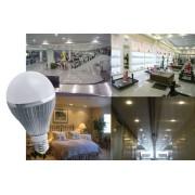 Lâmpada Led Com Bulbo 5w, Bi-volt, 90% Mais Econômica Barato - ILIMITI SHOP
