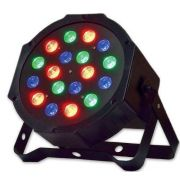 Refletor Led Par 64 Rgb 18 Leds De 1w, Digital, Strobo - ILIMITI SHOP