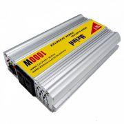 Inversor De Tensão Veicular USB Mais 12v Para 110v - 1000w