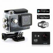 Camera Sports  Wifi Filmadora Prova D'agua 12mp Tipo GOpro