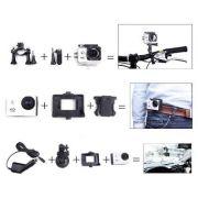 Camera Sports  Wifi Filmadora Prova D'agua 12mp Tipo GOpro - ILIMITI SHOP