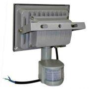 Refletor Led 10w - Sensor Presença Uso Externo - Branco Frio - ILIMITI SHOP