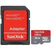 Cartão Memória Sandisk Micro Sd 16gb Classe 10 Ultra 30mb/s - ILIMITI SHOP
