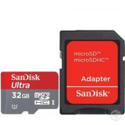 Cartão Memória Sandisk Micro Sd 32gb Classe 10 Ultra 30mb/s - ILIMITI SHOP