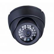Camera Dome Ccd Infra Vermelho 48 Led 50 Mts Linhas 3,6mm Ft