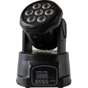 Kit 2 Mini Moving Head Wash De Led 7/12w Dmx - ILIMITI SHOP
