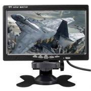 Tela Monitor 7 Polegadas P/câmera Ré ,dvd,cftv Dvr, Encosto - ILIMITI SHOP