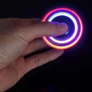 Anti Ansiedade Stress Hand Spinner Fidget Spinner Com Led - ILIMITI SHOP