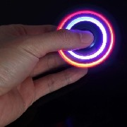 Kit05 Anti Ansiedade Hand Spinner Fidget Spinner Com Led - ILIMITI SHOP