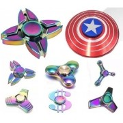 Fidget Hand Spinner Finger Metal Coloridos Tops Mais Modelos  - ILIMITI SHOP