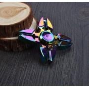 Fidget Hand Spinner Toy Anti Stress Metal - Modelo Shuriken   - ILIMITI SHOP