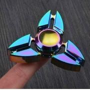 Fidget Hand Spinner Anti Stress Metal Shuriken 3 Pontas   - ILIMITI SHOP