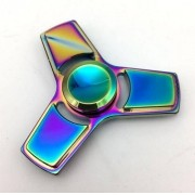 Fidget Hand Spinner Toy Anti Stress Metal - Modelo Triangulo - ILIMITI SHOP