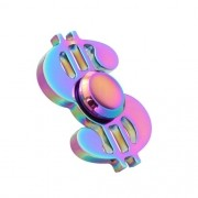 Fidget Hand Spinner Anti Stress Metal Dollar  - ILIMITI SHOP