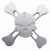 Fidget Hand Spinner Finger Toy Anti Stress Metal Caveira   - ILIMITI SHOP