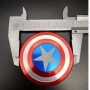 Fidget Hand Spinner Metal Capitao America  - ILIMITI SHOP