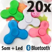 Kit 20 Fidget Hand Spinner Bluetooth Anti Stress E Ansiedade - ILIMITI SHOP